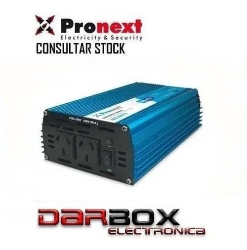 Inversor Conversor 12vcc A 220vca Pronext 600w