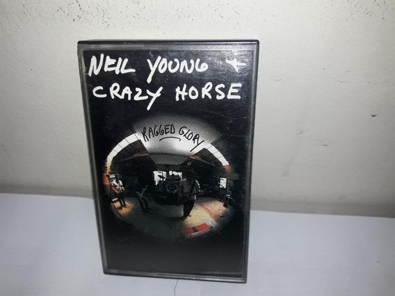 Fita K7 Neil Young & Crazy Horze Ragged Glory