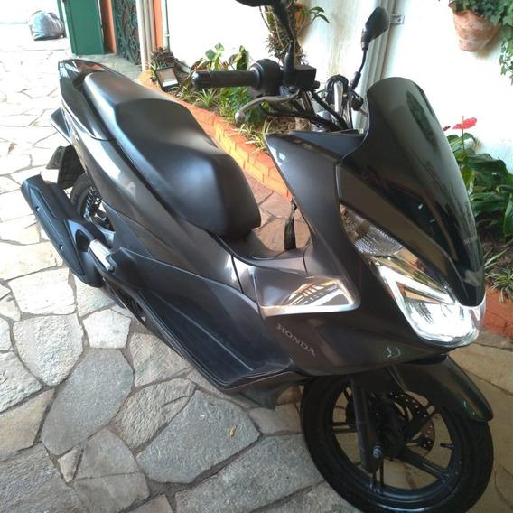 Honda Pcx 2016 Cinza Metálica