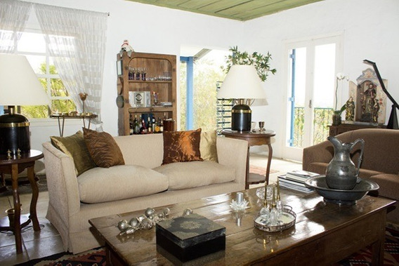 Ótima Casa Térrea Estilo Colonial De 3 Suítes - Cod 45918
