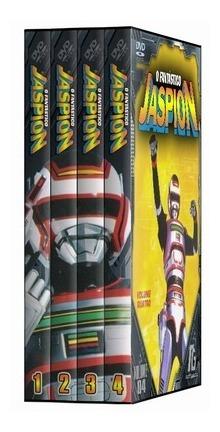 Jaspion - Completo - 10 Dvds