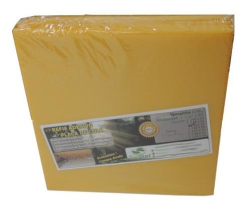 Box 20 Refil Adesivo 39x10 Cm Amarelo Armadilha Matar Moscas