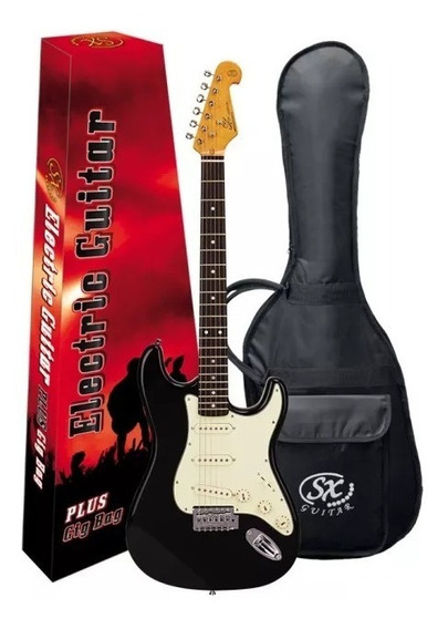 Guitarra Eléctrica Sx Stratocaster Vintage Fst62 +funda+púas