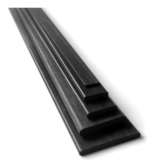 Carbono Varilla Solida 1mm×3mm×1m