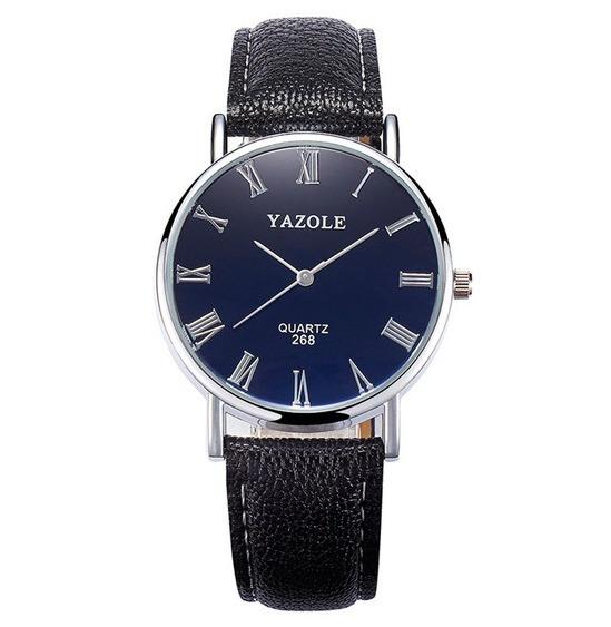 Relógio Masculino Original Yazole Tipo Technos Naviforce