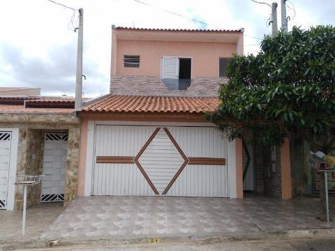 Casa Para Venda Em Tatuí, Residencial Santa Cruz, 3 Dormitórios, 1 Suíte, 1 Banheiro, 2 Vagas - 221