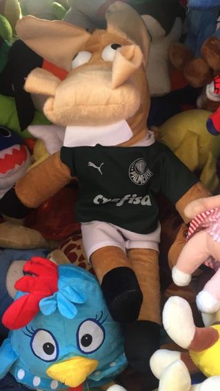 Cavalinho Pelúcia Palmeiras