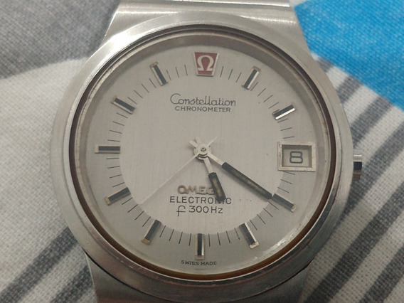 Relógio Omega Constellation Electronic F300hz
