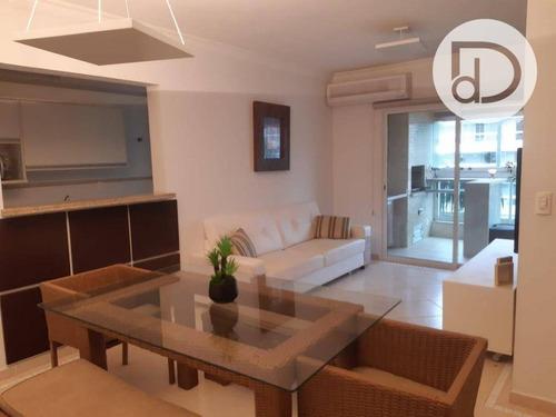 Apartamento Com 3 Dormitórios À Venda, 106 M² Por R$ 1.200.000,00 - Riviera De São Lourenço - Bertioga/sp - Ap1706