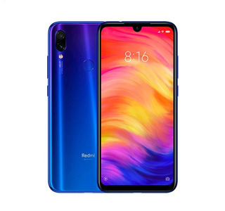 Xiaomi Redmi Note 7 64gb Rom/4gb Ram Cámaras 48mp+5mp Azul
