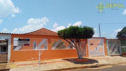 Casa Com 3 Dormitórios À Venda, 178 M² Por R$ 285.000,00 - Vila São Jorge Da Lagoa - Campo Grande/ms - Ca0051