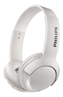 Auricular Philips Vincha Dj Shl3075 Extra Bass Blanco Cuotas
