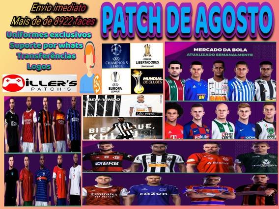 Patch Pes 2020 Ps4, Elencos E Uniformes Atualizados