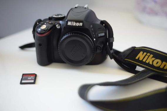 Câmera Nikon D5100, Em Perfeito Estado.