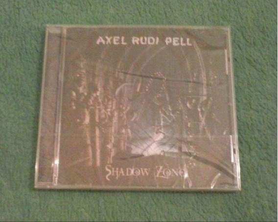Cd Axel Rudi Pell-shadow Zone.steeler.rob.yngwie.edguy.rata
