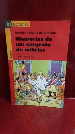 Livro: Memórias De Um Sargento De Milícias Manuel Antônio