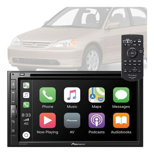 Imagem 1 de 9 de Central Pioneer Tv Dvd Gps Android Auto City Ar Dig ..