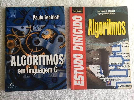 2 Livros : Algorítmos (feofiloff / Manzano) Frete Grátis