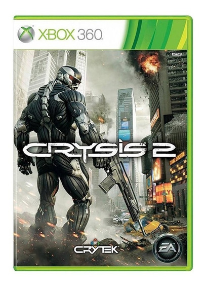 Jogo Crysis 2 - Xbox 360 - Original - Usado