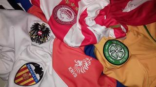 4 Camisas+1 Moletom Futebol Valencia Holanda Austria Celtic