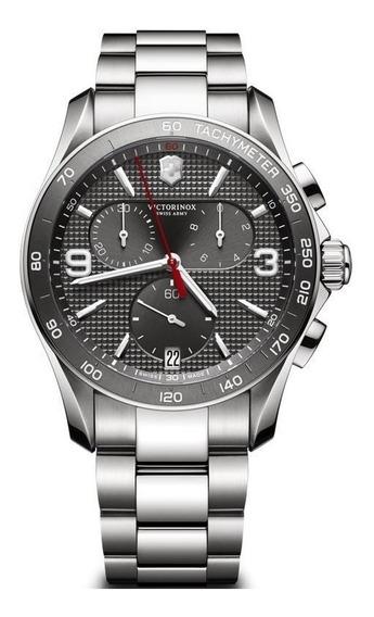 Relógio Victorinox Swiss Arms Chronograph 241656 Original