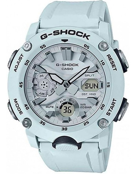 Relogio Casio G-shock Carbon Core Guard Ga-2000s-7adr + Nfe