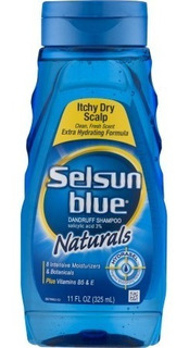 Shampoo Anti Caspa Selsun Blue Naturals 325ml