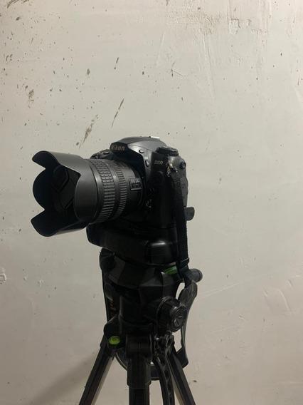 Nikon D200 + Grip Original + Lente ( Tudo Ok - Linda )