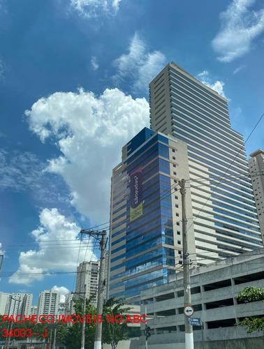 Sala Comercial Trilogy Office 32 À 600m Edifício Moderno Avenida Pereira Barreto - Sbc - Sc00004 - 34895810