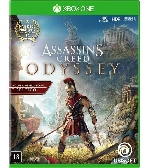 Assassins Creed Odyssey - Xbox One - Novo - Midia Fisica
