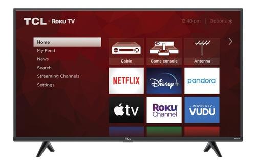 Pantalla Tcl 43s431 43  PuLG Class 4k (2160p) Roku Smart Tv