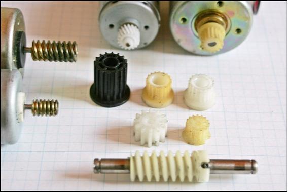 Engranajes Plasticos, Poleas Motores Arduino, Cnc Varios