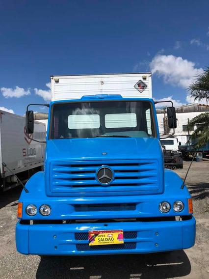 Mb Mercedes Benz L 1218 R 1998 Truck Toco Bau Caroceria