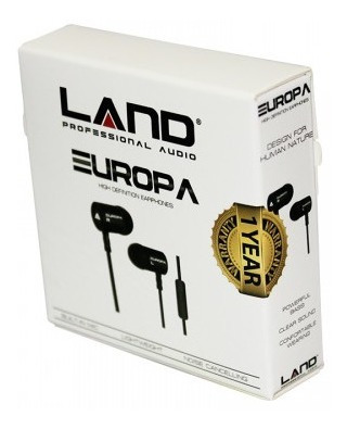 Fone Land Audio Europa High Definition Sport Earphone
