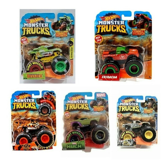 Carritos Hotwheels Carros Hot Wheels Monsters Trucks