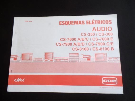 Esquemas Elétricos Audio - Cs-350 - Cce - Altec