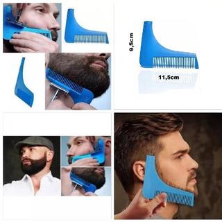 Pente Para Fazer Barba E Bigode Alinhador E Modelador