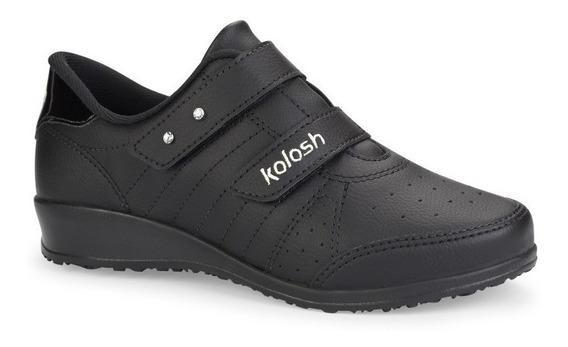 Tênis Kolosh Plataforma Preto C0445