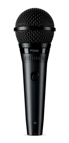 Micrófono Shure PG Alta PGA58-XLR dinámico cardioide negro