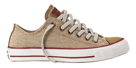 Zapatillas Converse Chuck Taylor All Star Lino Ox Nat 7077