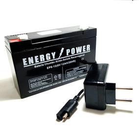 Carregador 6v Bateria 6v 12ah P/ Moto Elétrica Bandeirante