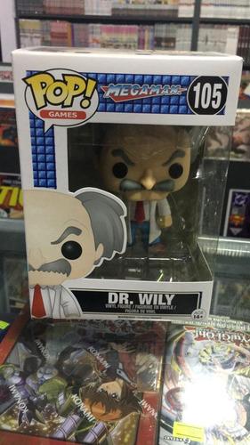 Funko Pop! Dr. Wily # 105