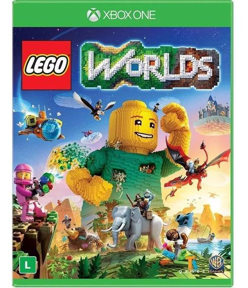 Jogo Lego Worlds Xbox One - Mídia Física Lacrado