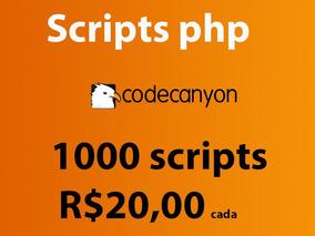 Temos Mais De 1000 Scripts Php Do Codecanyon- Escolha O Seu