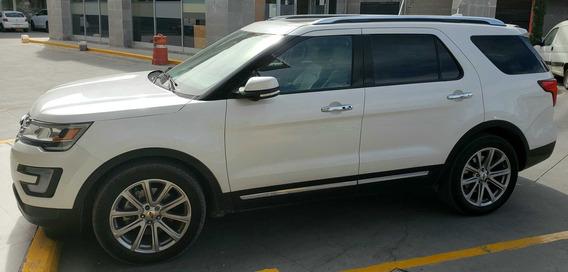 Ford Explorer 2017 Limited Piel Beige Excelente