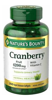 Cranberry 4200mg Com Vitamin C Nature