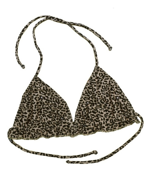 Bikini Corpiño Triángulo C/voladito Nube