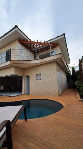Casa Com 4 Dormitórios À Venda, 323 M² Por R$ 1.600.000,00 - Condomínio Recanto Do Lago - São José Do Rio Preto/sp - Ca2659