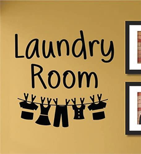 Imagen 1 de 1 de Lavanderia Sala De Lavado Laundry  Diseño Vinilo Decorativo