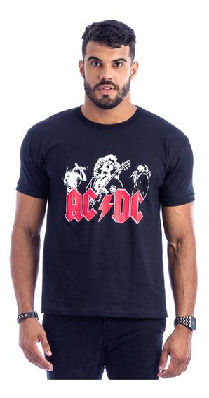 Camiseta Masculina Ozzy Osbourne Black Sabbath Banda Rock